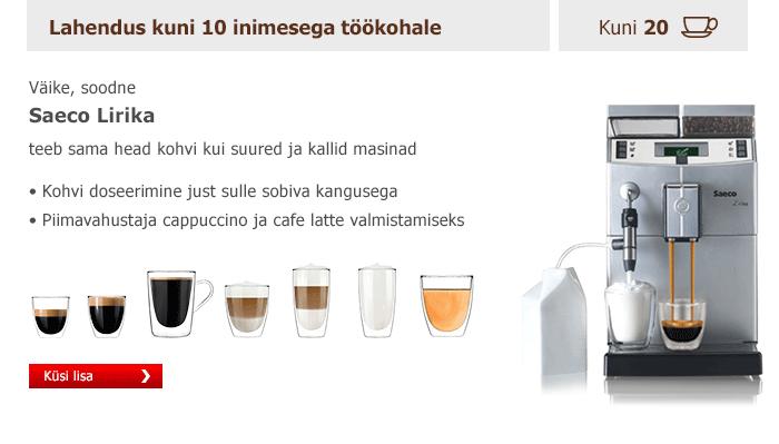Kuumad joogid töökohal 25