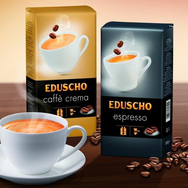 Kohviuba EDUSCHO Caffè Crema 1000g.