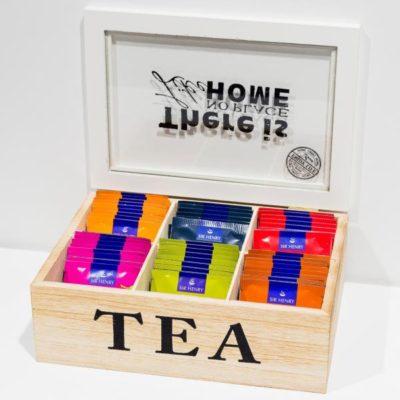 Teekarp puidust / 48pk SIR HENRY teed