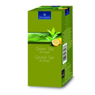 SIR HENRY roheline tee sidruniga 25pk