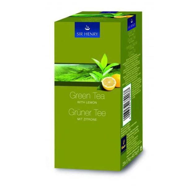 Sir Henry roheline tee sidruniga 25x1,75g