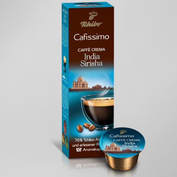 Kohvikapslid Caffe Crema INDIA SIRISHA