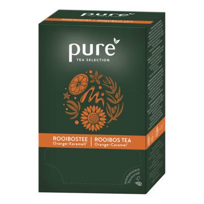 Rooibos tee, apelsini ja karamelliga PURE 25pk