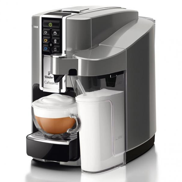 Cafissimo LATTE Argento + 60 kohvikapslit