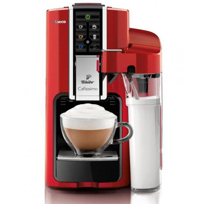 Kapselkohvimasin Cafissimo LATTE Rosso + 60 kohvikapslit