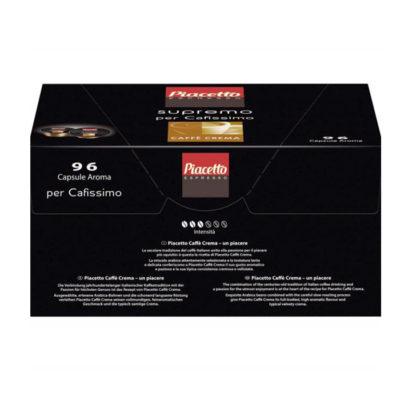 Kohvikapslid PIACETTO Supremo CAFFE CREME 96tk