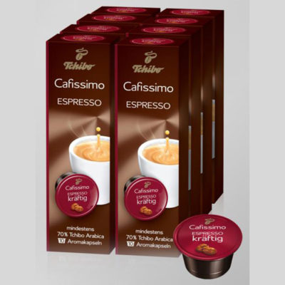 Kohvikapslid Espresso INTENSE AROMA 80tk
