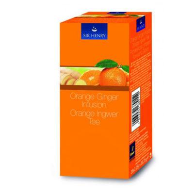 SIR HENRY apelsini – ingveri tee  25pk
