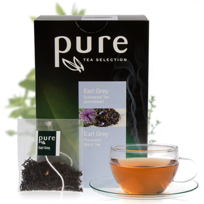 PURE must tee Earl Grey 25pk