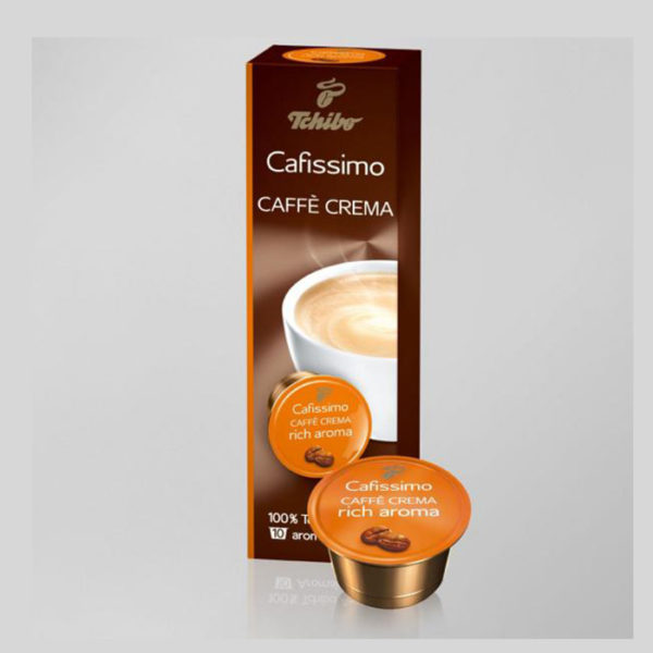 Kohvikapslid Caffe Crema RICH AROMA 10tk / 0.29eur tk