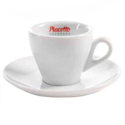 PIACETTO kohvitass alustaldrikuga 170ml