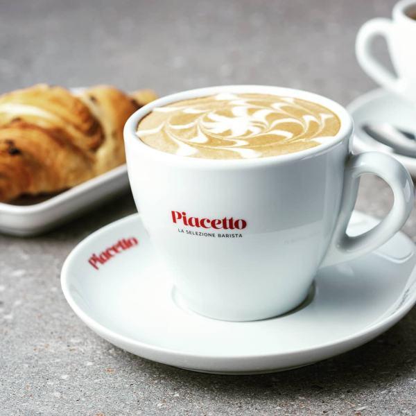 Cappuccino tass alustaldrikuga PIACETTO 340ml 1