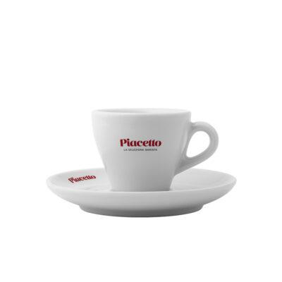 Espressotass alustaldrikuga PIACETTO 70ml