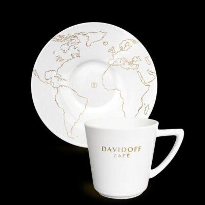 Kohvitass alustaldrikuga DAVIDOFF  215ml