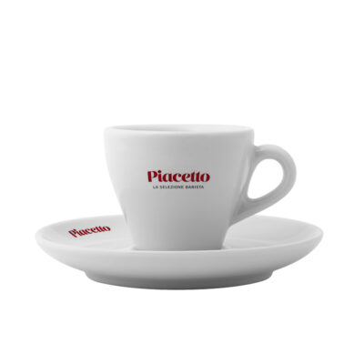 Kohvitass alustaldrikuga PIACETTO 170ml