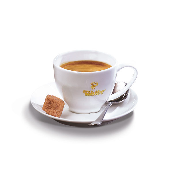 TCHIBO espressotass alustaldrikuga 50ml 2