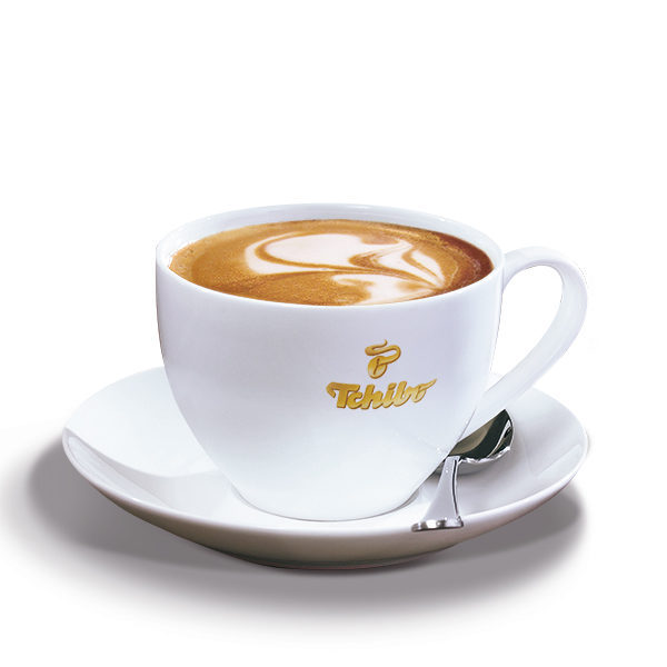 TCHIBO kohvitass alustaldrikuga 200ml 2