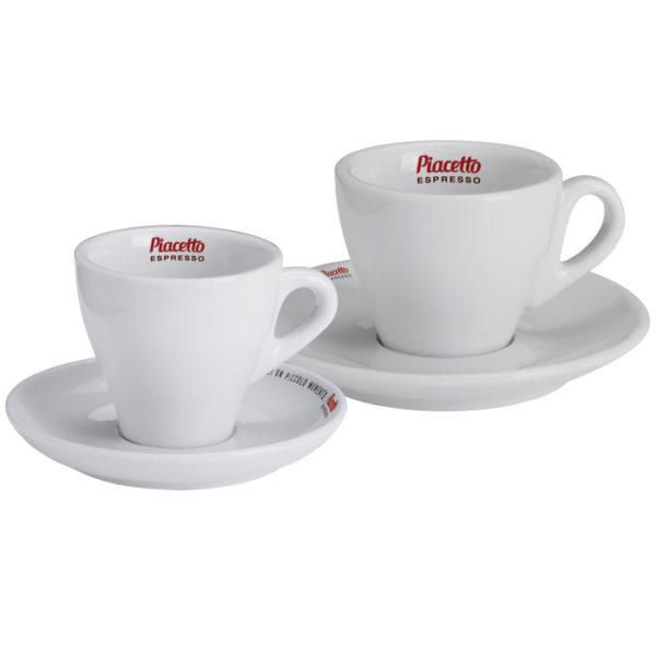 """Espressotass alustaldrikuga """"Piacetto"""" 50ml"""