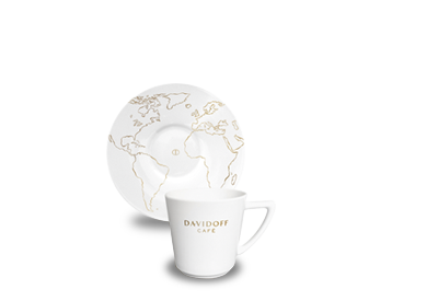 DAVIDOFF espressotass alustaldrikuga 85ml