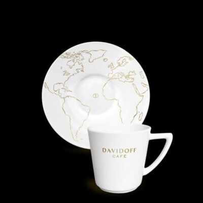 Espressotass alustaldrikuga DAVIDOFF  85ml