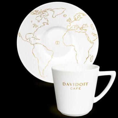 Kohvitass alustaldrikuga DAVIDOFF Cafe Latte  310ml