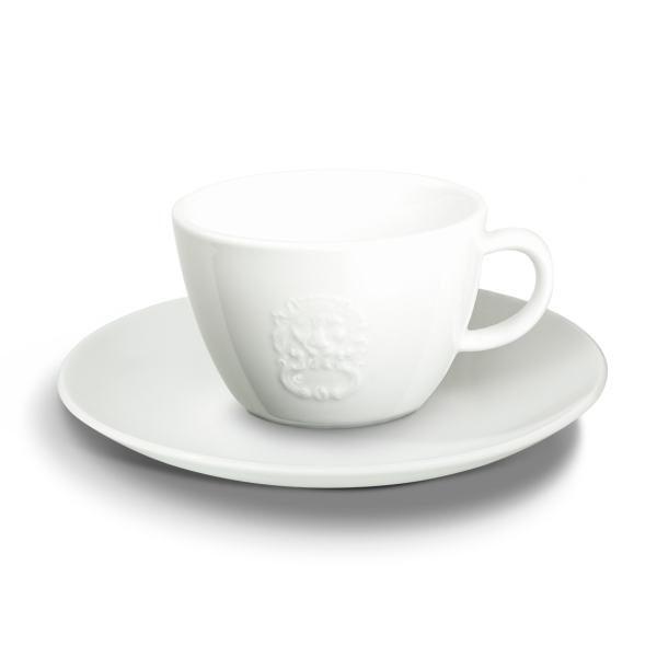 PIACETTO PRESTIGIOSO kohvitass alustaldrikuga 200ml 1