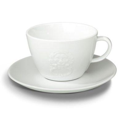 PIACETTO PRESTIGIOSO cafe latte tass alustaldrikuga 340ml