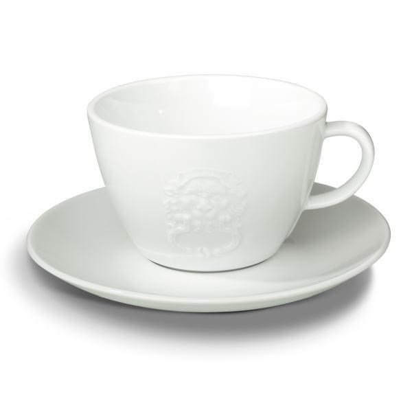 Kohvitass alustaldrikuga PIACETTO Prestigioso 340ml