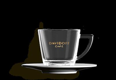 DAVIDOFF espresso klaas alustaldrikuga 85ml