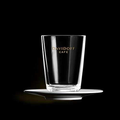 DAVIDOFF cafe latte klaas alustaldrikuga 265ml 4