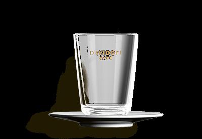 DAVIDOFF cafe latte klaas alustaldrikuga 265ml
