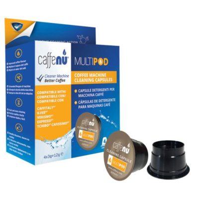 CAFFENU kapselkohvimasina puhastuskapslid  4tk