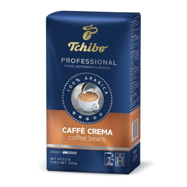 Kohvioad TCHIBO Caffe Crema Professional 1000g 1