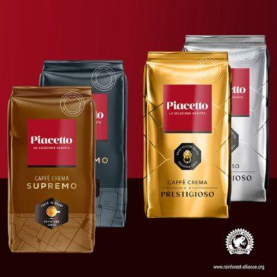 Kohvioad PIACETTO degusteerimiskomplekt 4 x 1000g