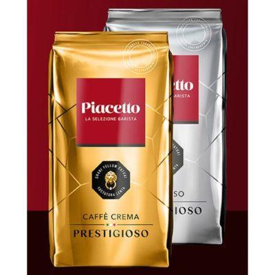 Kohvioad PIACETTO PRESTIGIOSO degusteerimiskomplekt 2 x 1000g