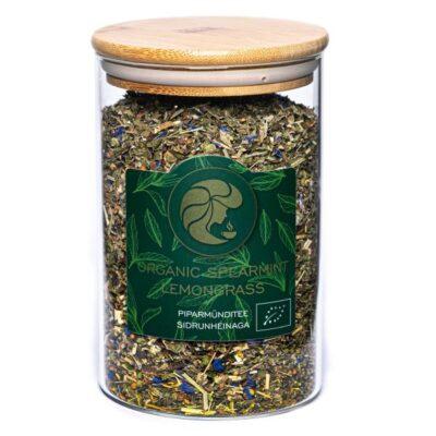 Teepurk Piparmündi tee sidrunheinaga – Organic Spearmint Lemongrass  1000ml