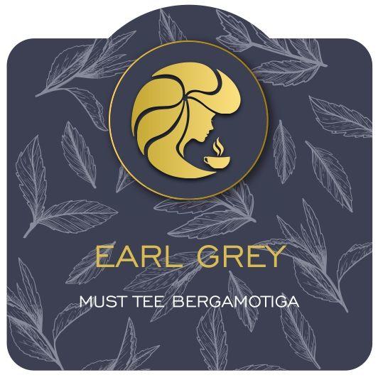 Must tee bergamotiga Earl Grey