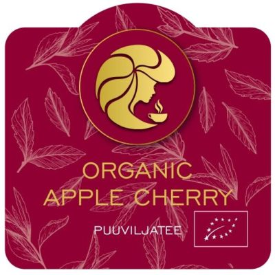 Puuviljatee Organic Apple Cherry 60g