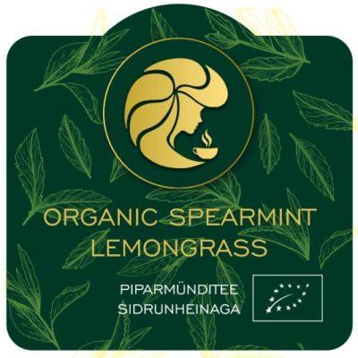 Purutee Organic Spearmint Lemongrass  40g