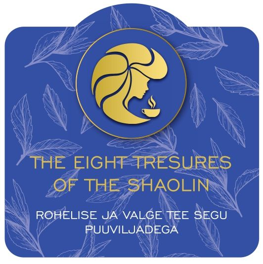 """Purutee """"The eight treasures of the Shaolin""""  50g 2"""