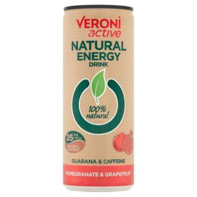 Naturaalne energiajook granaatõuna-greibi 250ml