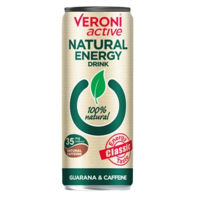 Naturaalne energiajook guaraana ja kofeiiniga 250ml