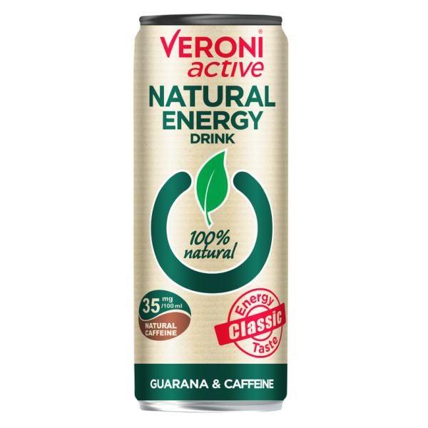Naturaalne energiajook guaraana ja kofeiiniga 250ml 1