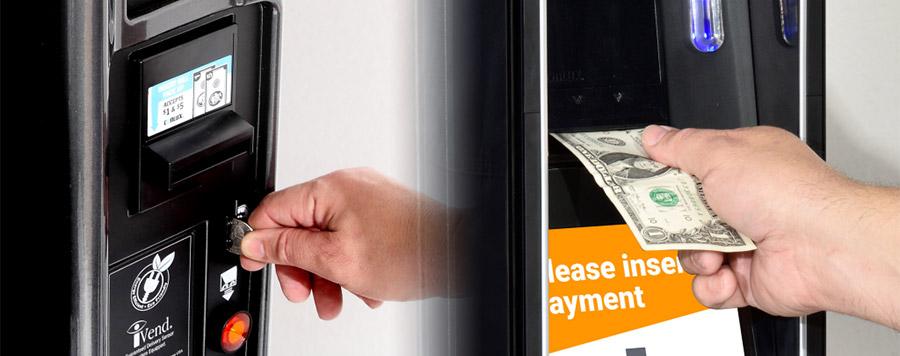 Kuidas kohviautomaat ja müügiautomaat tehinguid kontrollib?