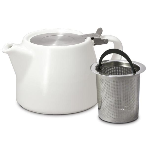Keraamiline teekann valge 1