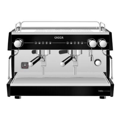 Espressomasin VISACREM Vetro Tall Black 2GR – kõrge mudel