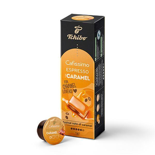 Kohvikasplid Cafissimo Espresso Caramel 1 karp 10tk - Päikesekohv OÜ