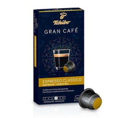 Kohvikapslid TCHIBO Gran Cafe Espresso Classico 10tk