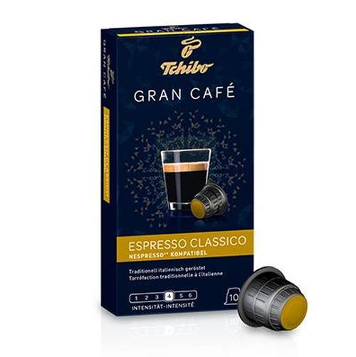 Kohvikapslid Tchibo Gran Cafe Espresso Classico / Nespresso