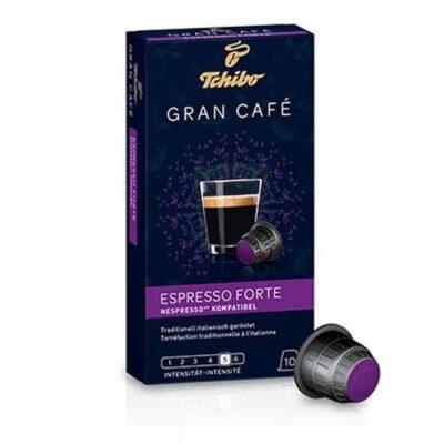 Kohvikapslid TCHIBO Gran Cafe Espresso Forte 10tk